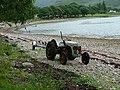 Tractor at Camas Ban - geograph.org.uk - 315452.jpg