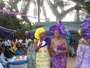 English: Igbo Traditional Wedding at Nnewi