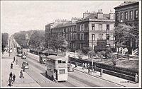 Tram , Great Western Road , GLASGOW , Scotland , 20-30s.jpg