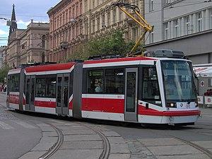Škoda 03 T - Image: Tram 03T Brno