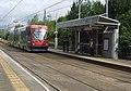 Tram at Priestfield Metro Stop - geograph.org.uk - 880165.jpg