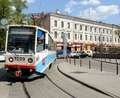 Tram depot near Chistye Prudy Moscow Metro station.png