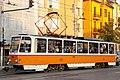Tram in Sofia mear Macedonia place 2012 PD 037.jpg