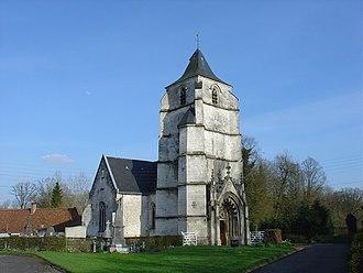 Tramecourt - The church of Tramecourt