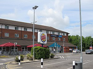 Bridgwater services - Image: Travelodge, Bridgwater Services geograph.org.uk 1319561