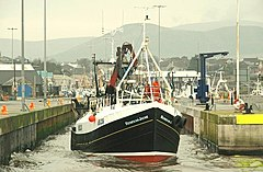Trawler departing Kilkeel (1of6) - geograph.org.uk - 1141805.jpg