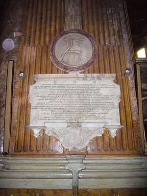 Basilios Bessarion - Tomb of Bessarion in the Santi Apostoli, Rome.
