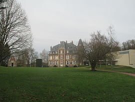 View of Château of Troussures.