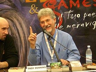 Troy Denning American writer and game designer