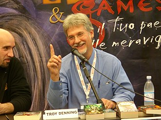 Troy Denning - Troy Denning at the 2007 Lucca Games