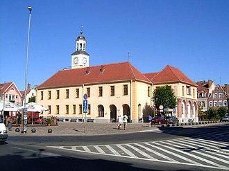 Trzebiatów - Town Hall of Trzebiatów