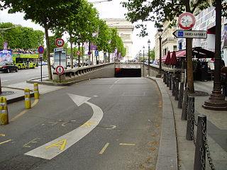 Tunnel de lÉtoile