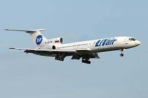 Flight Crew (film) - Tu-154M RA-85796 board, starring in the film (while working in UTair).