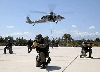 Amphibious Marine Brigade (Turkish Armed Forces) - Image: Turkish sailors in Phoenix Express 2009