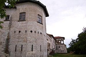 Pârvu Cantacuzino - Fortifications of Comana Monastery