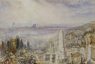 Vue de Paris depuis le Père-Lachaise