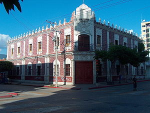 Tuxtla Gutiérrez - Old City Hall of Tuxtla, today, the City Museum