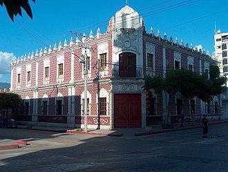 Tuxtla Gutiérrez - Old City Hall of Tuxtla, today, the City Museum