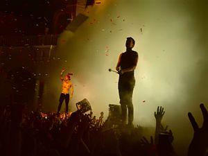 Blurryface - Twenty One Pilots performing in 2015