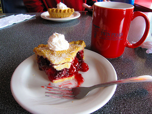 Twin Peak's Cherry Pie and Coffee, May 2009