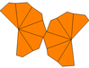 Twisted hexagonal trapezohedron net.png