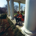 Two JFKs on West Wing Collonade, 1963.png