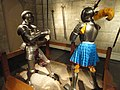 Two knights - Higgins Armory Museum - DSC05707.JPG