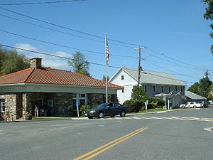 Tyringham, Massachusetts - Tyringham Post Office and Town Hall