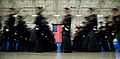 U.S. Air Force honor guard members practice for the 57th presidential inauguration parade at Joint Base Andrews, Md 130111-F-MG591-029.jpg