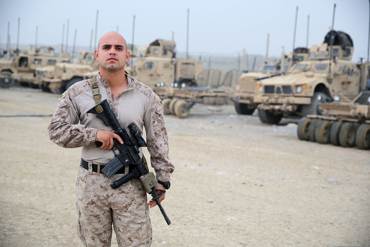 where are marines currently deployed