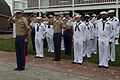 U.S. Marines and Sailors take part in a 9-11 memorial at the Fort McHenry National Monument and Historic Shrine in Baltimore Sept 140911-M-EA576-089.jpg