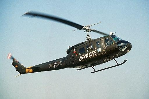 UH-1D Luftwaffe A29 Ahlhorn 1984