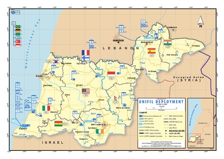 Deployment of UNIFIL forces, 2018 UNIFIL Deployment February 2018.pdf