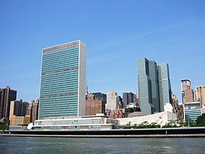 Diplomacy - The United Nations, with its headquarters in New York City, is the largest international diplomatic organization.