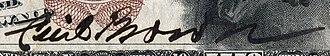 Cecil Brown (Hawaii politician) - Image: US NBN HI Honolulu 5550 1882BB 10 1 B (clipped signature)