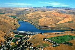 Heppner, Oregon - Willow Creek Lake and Dam