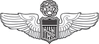 USAF Master Astronaut badge