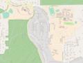 USA - Oregon - Portland - Lewis & Clark College campus - OpenSteetMap.png