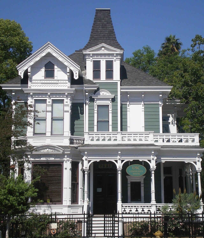 West Adams Forthmann House Victorian Architecture