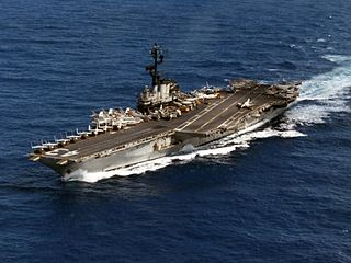 USS <i>Coral Sea</i> (CV-43) Midway-class aircraft carrier of the US Navy