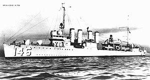 USS Greer (DD-145) - USS Greer (DD-145)