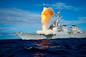NATO missile defence system - U.S. President Barack Obama proposed using the Aegis Ballistic Missile Defense System (including ship borne launchers) in 2009, replacing a planned Ground-Based Midcourse Defense system deployed in Poland and the Czech Republic.
