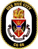 USS Hue City CG-66 Crest
