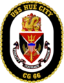 USS Hue City CG-66 Crest.png