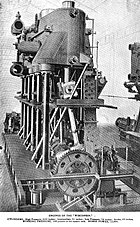 USS Wisconsin (BB-9) Engines