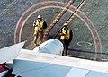 US Navy 021114-N-9907G-001 Flight deck Sailors prepare to launch a C-2A Greyhound.jpg
