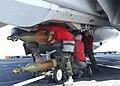 US Navy 030305-N-4655M-004 Aviation Ordnancemen install a GBU-31 Joint Direct Attack Munitions.jpg
