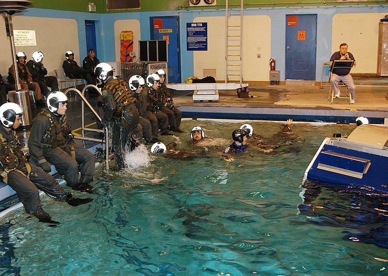 Water survival training in louisiana