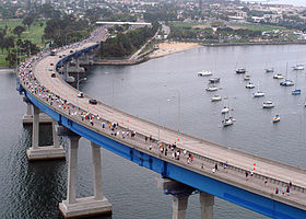 Image illustrative de l'article San Diego-Coronado Bridge