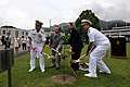 US Navy 100623-N-8335D-024 Guests plant a cherry blossom tree to commemorate the 50th anniversary of the Japan-U.S. Treaty of Mutual Cooperation and Security.jpg
